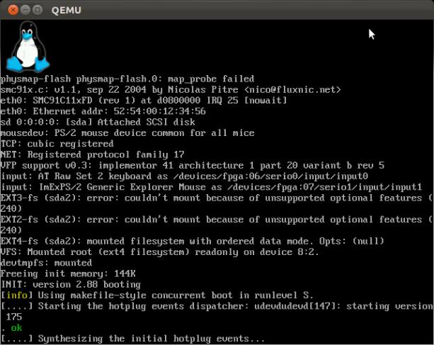 Qemu-raspberry-boot1